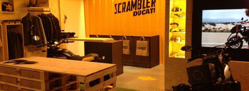 DUCATI SCRAMBLER CAMP: il primo concept store è a Padova.
