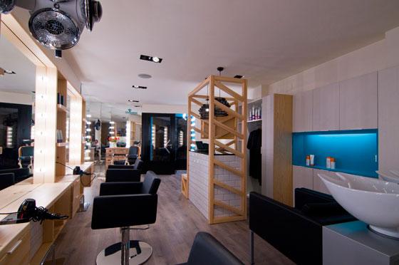 Interior design LLORENÇ HAIRDRESSER by Estudio Vitale