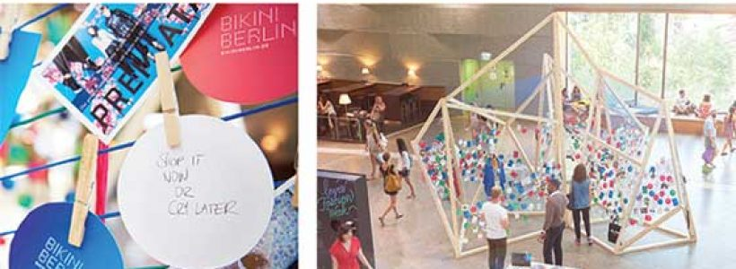 BIKINI BERLIN, Dan Pearlman is Lead Agency  for the Concept Shopping Mall's Brand Concept.