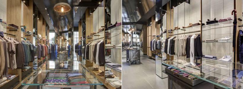 LUCIANO BARBERA flagship store, Milano.