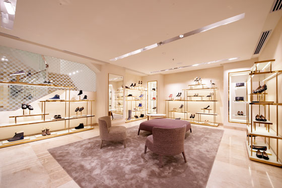 Furla flagship store Ginza