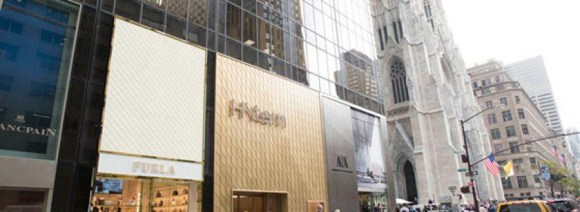 Nuovo opening FURLA sulla Fifth Avenue a New York.