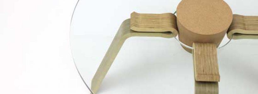 Jeong Hyeonil progetta il tavolo CORK.