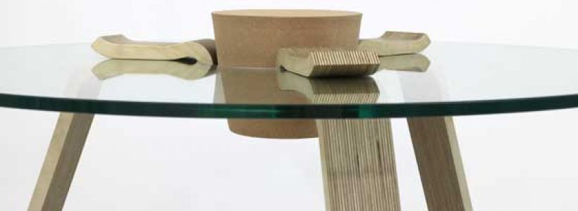 CORK Stopper Table by Hyeonil Jeong.