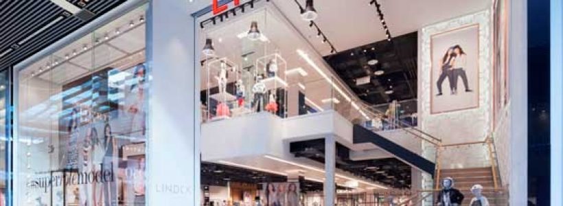 Lindex's Launch in the UK with a New Store Concept by Checkland Kindleysides