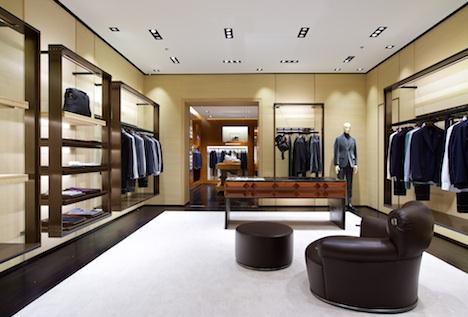Il flagship Ermenegildo Zegna nel Mall of Emirates di Dubai