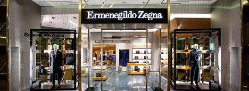 ERMENEGILDO ZEGNA: riaperto dopo un completo restyling il flagship nel Mall of Emirates di Dubai.