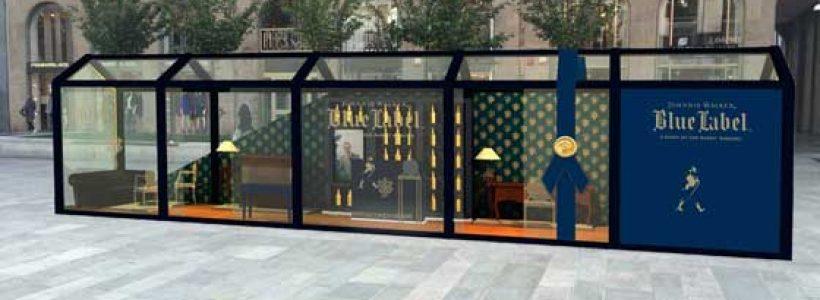 Apre a Milano il Johnnie Walker Blue Store, il pop-up dedicato al gentleman contemporaneo