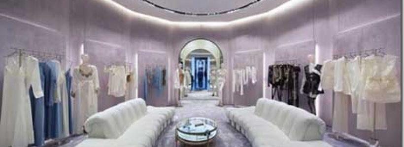 New image for La Perla boutique in the Dubai Mall.