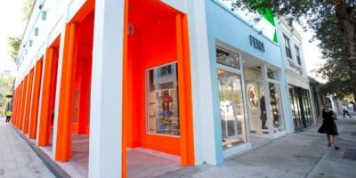 FENDI debutta nel Miami Design District con un nuovo concept store.
