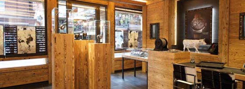 HUBLOT boutique, Zermatt