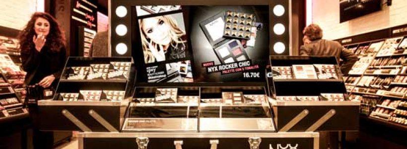 NYX COSMETICS apre il suo primo negozio monomarca a Milano.