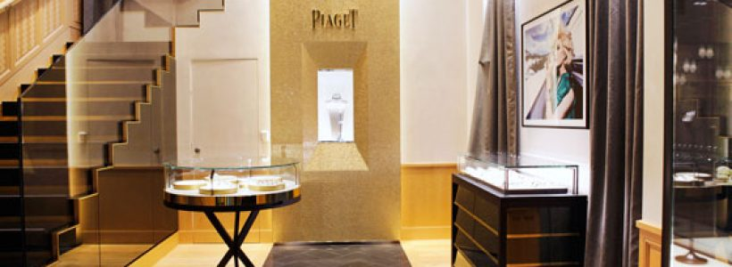 PIAGET opens its first Italy-based boutique in Milan.