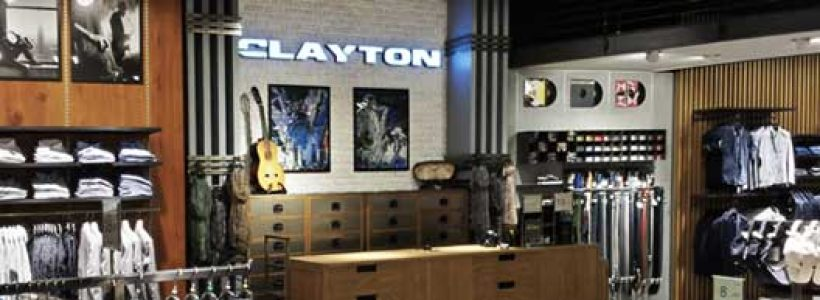 CLAYTON: nuovo flagship store a Milano.