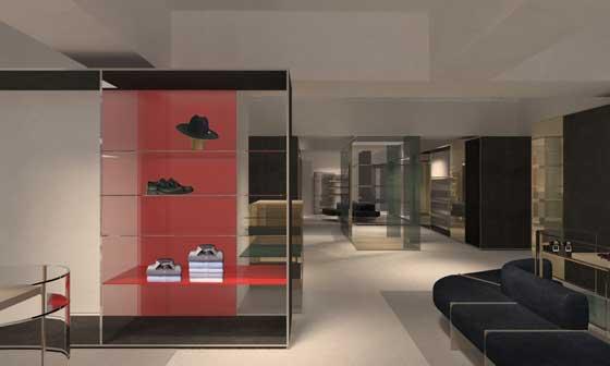 MANUEL RITZ flagship store in via Solferino 1 a Milano