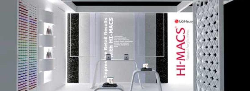 Il mondo infinito di HI-MACS® a Retail Design Expo.