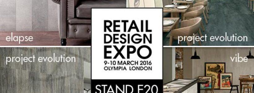 CERAMICHE CAESAR in London for RETAIL DESIGN EXPO.