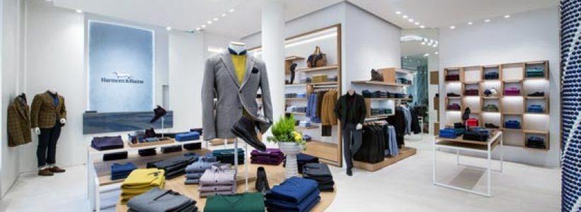 PLS Design firma la boutique parigina di HARMONT & BLAINE.