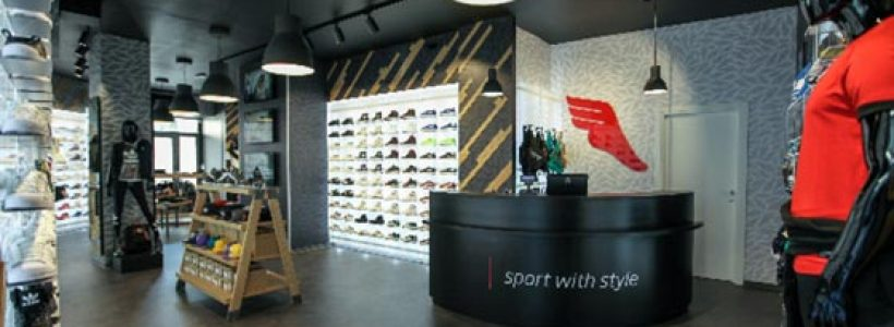 THE ATHLETE'S FOOT, a Firenze il primo negozio in Italia.