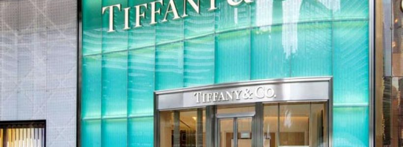 TIFFANY&CO il negozio di Singapore all'interno dello shopping mall Ion Orchard.