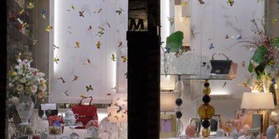 Allestimento BUTTERFLY TEA design Gariselli Associati.