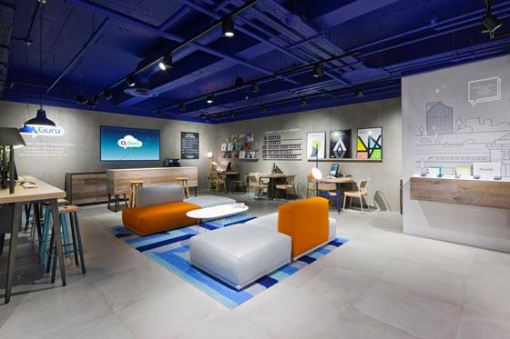 Lo studio Dalziel & Pow firma il nuovo concept store 02