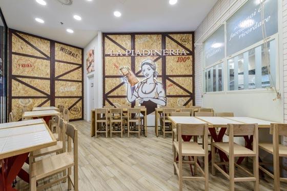Costa Group progetto La Piadineria
