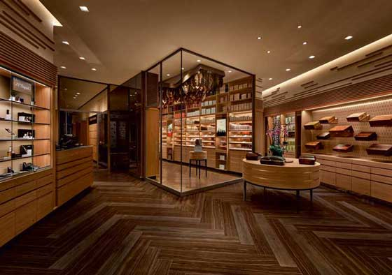 Davidoff, most prestigious Flagship Store and Lounge in Downtown Manhattan