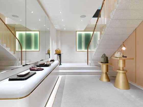 J&M Davidson store London by Universal Design Studio