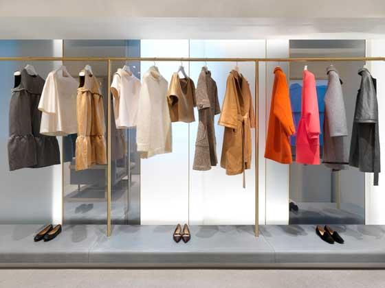 J&M Davidson store London progetto Universal Design Studio