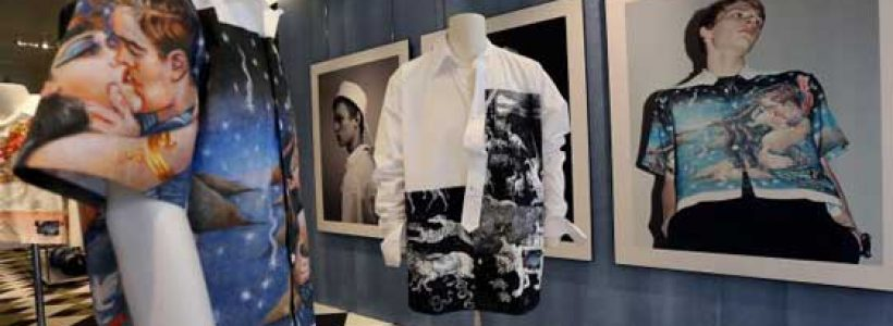 Prada Uomo Firenze | Sofisticata rappresentazione del progetto dis-dressed.