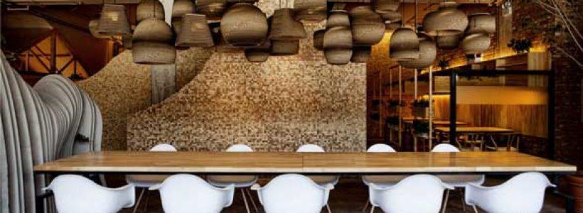 Shan Café, Interior Design by Robot3 Design.