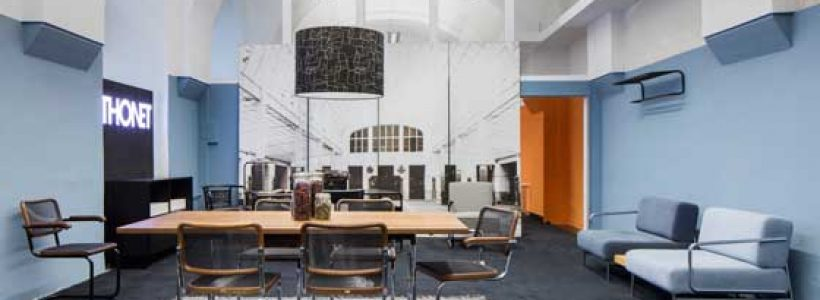Thonet apre il primo pop up café a Vienna.