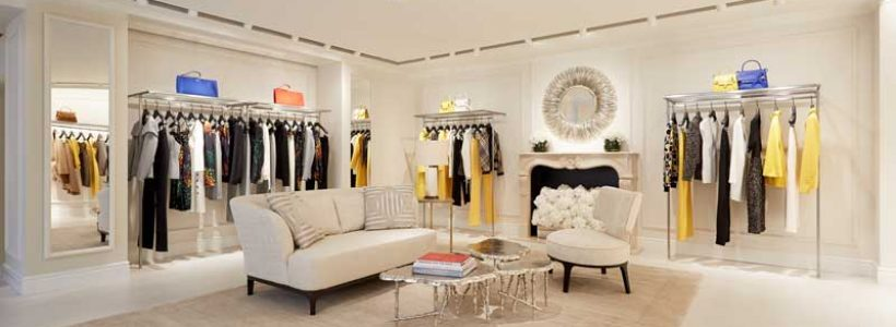 "ESCADA launches ""The Lounge"" new store design concept."