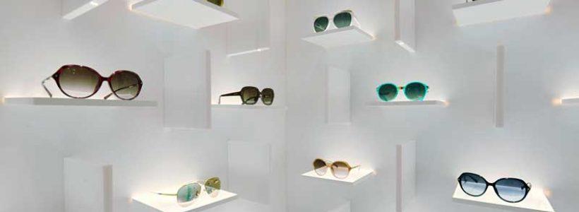 Ippolito Fleitz Group progetta il negozio di Ottica BOLON a Shanghai.