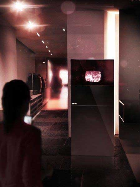 Senso immersive shopping experience