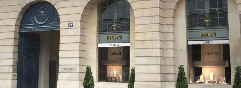 DAMIANI apre in Place Vendome a Parigi
