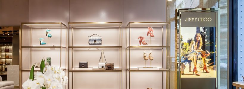 CHRISTIAN LAHOUDE STUDIO designed the Jimmy Choo boutique in Soho.