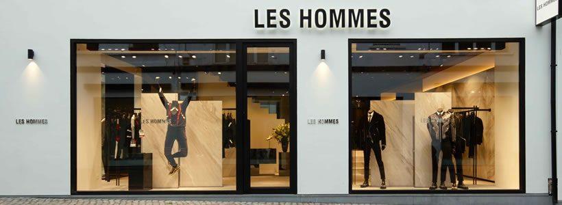 LES HOMMES inaugura ad Anversa un nuovo flagship store.
