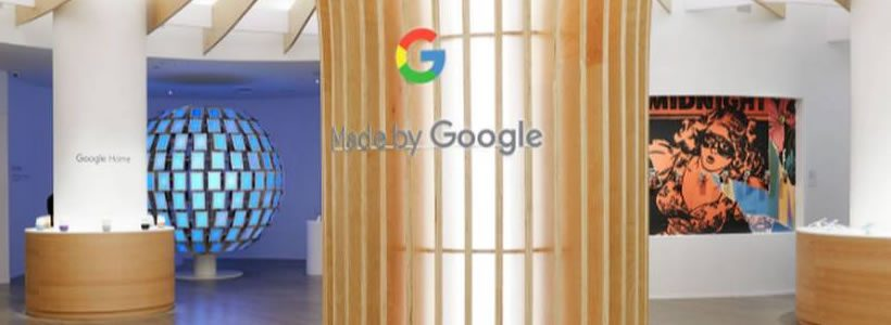 GOOGLE apre il suo futuristico temporary pop-up nel cuore di New York.