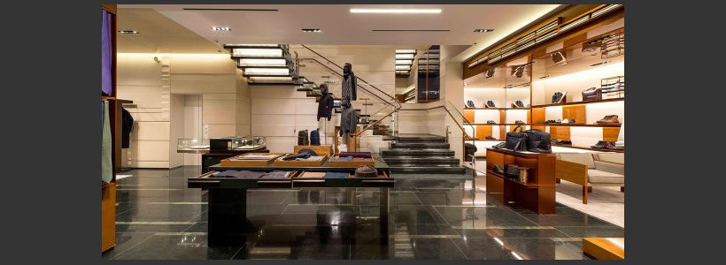 ERMENEGILDO ZEGNA: il nuovo global store di Londra.