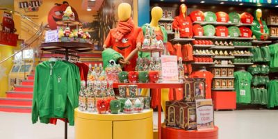 FEATURE ZONES M&M's World | London