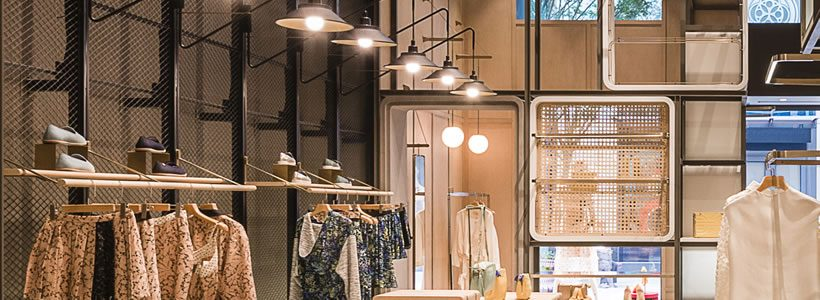 The MODULAR LILONG concept store by LUKSTUDIO.