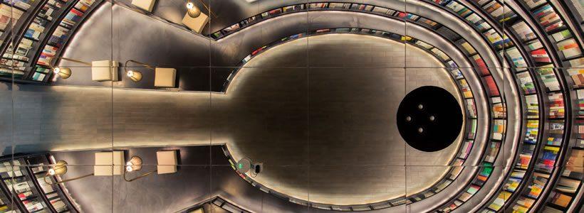 X+LIVING designed the new Zhongshuge-Hangzhou bookstore.