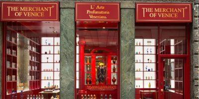Boutique monomarca a Milano per THE MERCHANT OF VENICE.