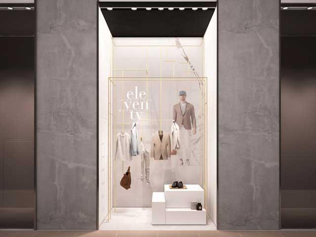 progetto di Parisotto+Formenton per la vetrina Eleventy La Rinascente Duomo
