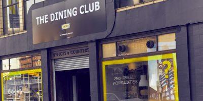 IKEA propone a Londra il suo pop up restaurant: The Dining Club.