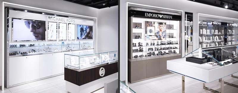 retail design Green Room boutique goldsmiths