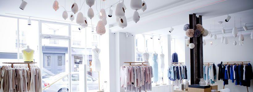 Studio Janréji designed Marie Sixitine's French stores.