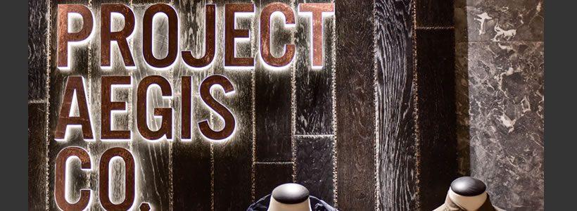 Michelle Wei progetta il punto vendita Project Aegis.